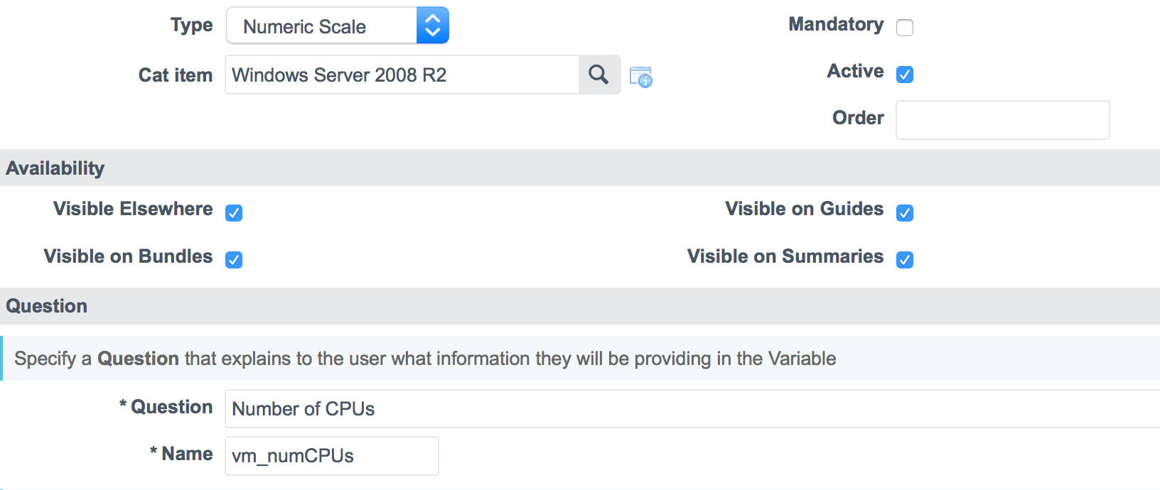 Using ServiceNow as a front end for vRealize Automation
