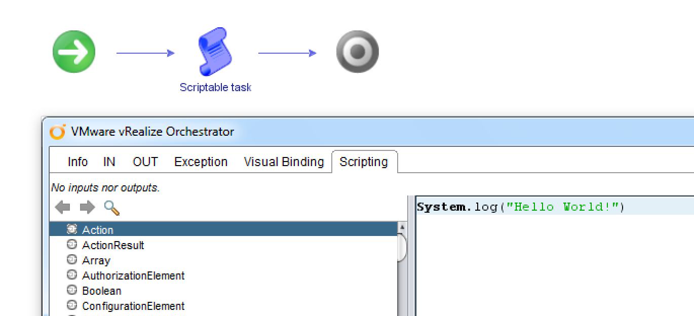 vrealize orchestrator | The Virtual Viking